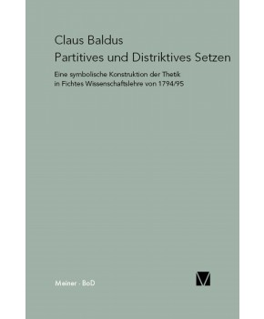Partitives und Distriktives Setzen