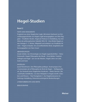 Hegel-Studien Band 2