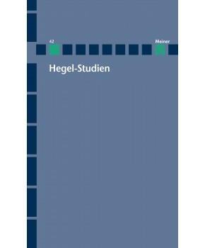 Hegel-Studien Band 42